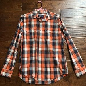 Medium American Eagle button down. Worn once!